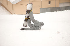 Snowboard turysta Obraz Royalty Free