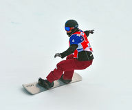 Snowboard World Cup Stock Image