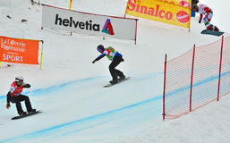 Snowboard World Cup Stock Images