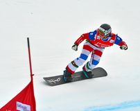 Snowboard World Cup Royalty Free Stock Images