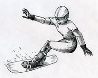 Snowboard Stock Photography