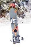 Snowboardausrüstung Stockfotos