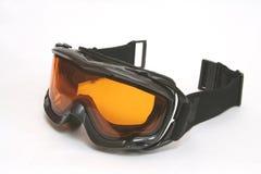 Snowboardbrillen Stockfoto