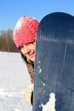 snowboarder αθλητικός χειμώνας Στοκ Φωτογραφίες