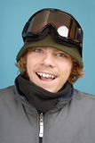 snowboarder εφηβικός στοκ φωτογραφία με δικαίωμα ελεύθερης χρήσης