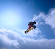 snowboarder неба Стоковое фото RF