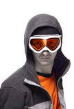 snowboarder портрета Стоковое Фото