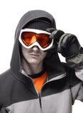 snowboarder портрета Стоковые Изображения