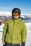snowboarder портрета Стоковое Изображение RF