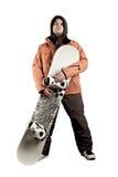 snowboarder спортсмена Стоковые Изображения