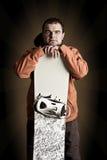 snowboarder спортсмена Стоковая Фотография RF