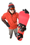 Snowboarder Stock Photography