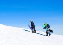 Snowboarder Lizenzfreies Stockfoto