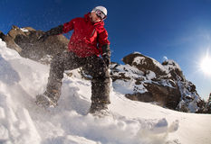 Snowboarder Foto de Stock Royalty Free