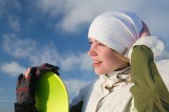 snowboarder Fotografia Royalty Free
