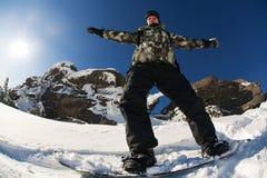Snowboarder Royalty Free Stock Photo