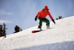 Snowboarder Foto de archivo