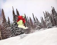 snowboarder Fotografering för Bildbyråer