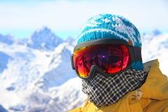 Snowboarder Imagenes de archivo