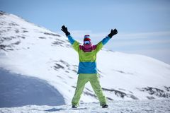 Snowboarder 2 Royalty Free Stock Photos