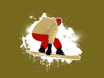 Snowboarder 2 libre illustration
