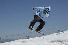 snowboarder Royaltyfri Fotografi