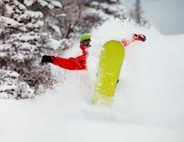 Snowboarder Stock Photo