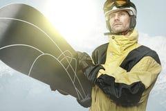 Snowboarder Arkivbild
