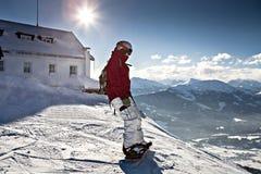 Snowboarder Stock Afbeeldingen