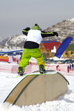 Snowboarder Photos stock
