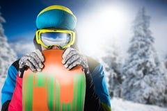 Snowboarder Zdjęcie Stock