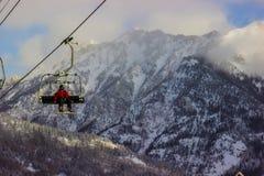 Snowboarder Image libre de droits