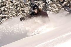 Snowboarder Fotografia Stock Libera da Diritti