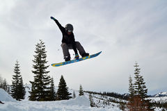 Snowboarder Royaltyfri Foto