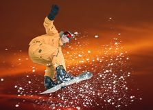 Snowboarder Stock Image