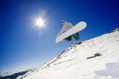 snowboarder Στοκ εικόνα με δικαίωμα ελεύθερης χρήσης