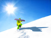 Snowboarder Royaltyfria Foton