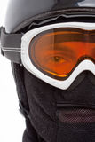 Snowboarder in balaclava Royalty Free Stock Images