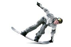 Snowboarder fresco Imagens de Stock Royalty Free