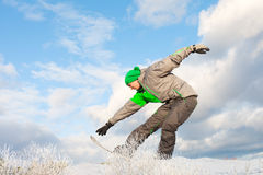 Snowboarder. Royalty Free Stock Images