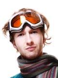 Snowboarder portrait Stock Images