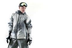 Snowboarder portrait Stock Photography