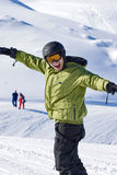 Snowboarder portrait Royalty Free Stock Photo