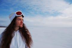 snowboarder potomstwa Zdjęcia Stock