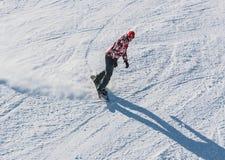 Snowboarder Stock Image
