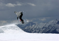 Snowboarder2. Snowboarder stock images