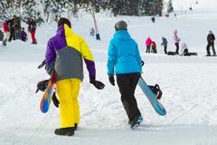 Snowboarders Lizenzfreies Stockbild