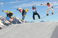 Snowboarders Stock Photos