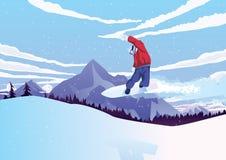 snowboarders Foto de archivo