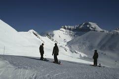 snowboarders blackcomb Стоковые Изображения RF